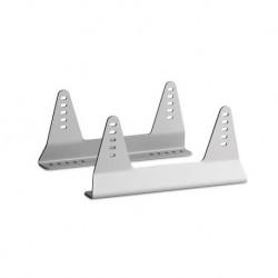 Bases asiento laterales aluminio Momo