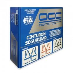 Arnés OCC 6 puntos 3 pulgadas FIA NEW caja