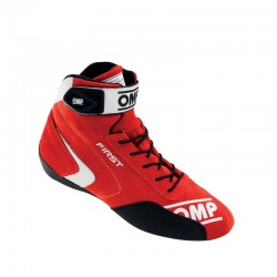 botines omp first my2020 rojo
