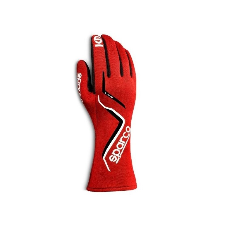 guantes sparco land rojo