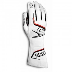 Guante Sparco Arrow Evo RG-7 blanco