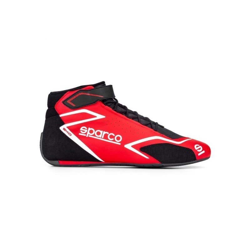 Botines Sparco Skid 2020 rojo
