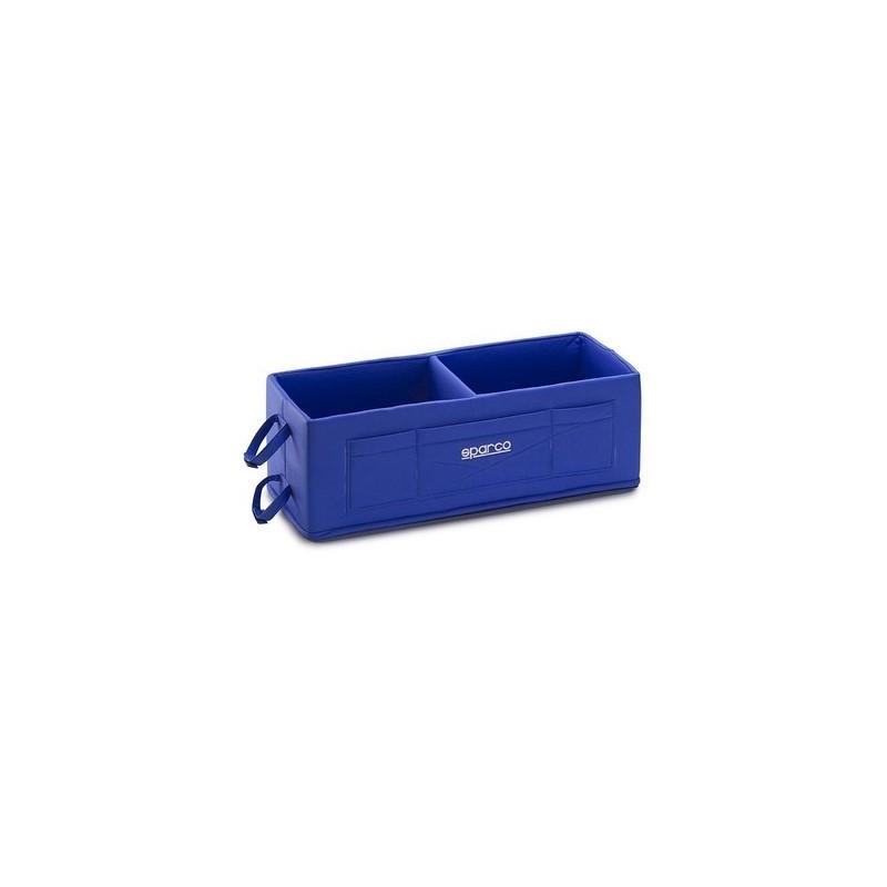 Porta-cascos Sparco azul