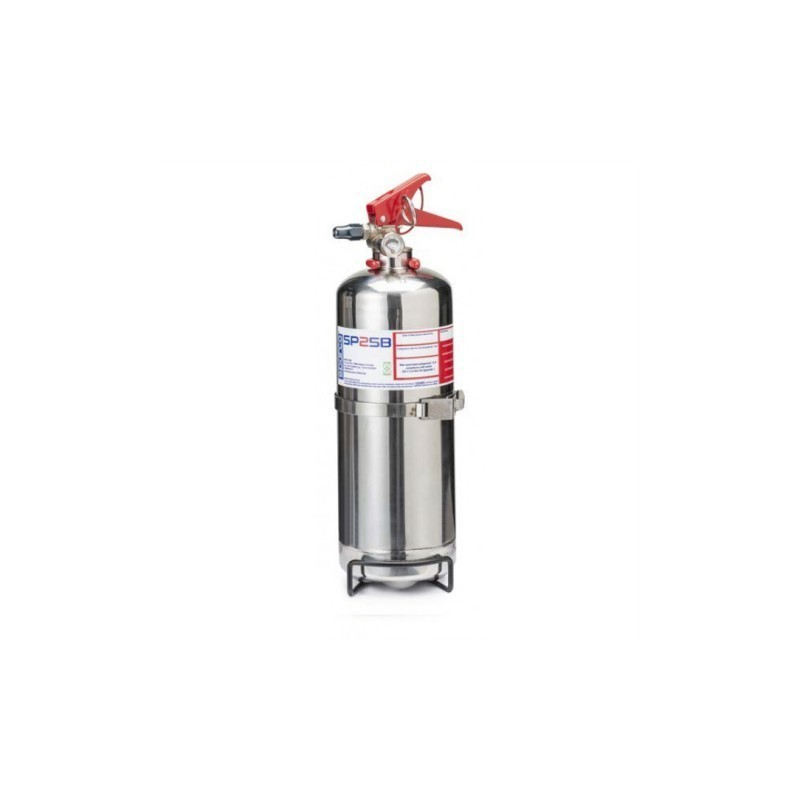 Extintor de mano Sparco Inox 2 KG CE