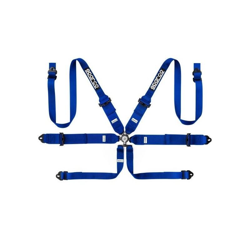 Arnés Sparco Pro Racer de 6 puntos azul