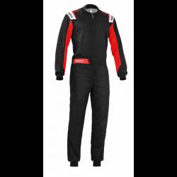 Mono Sparco Rookie 2020 negro rojo