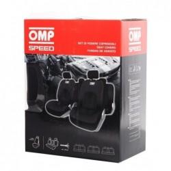 Kit Fundas asientos OMP Speed Negro