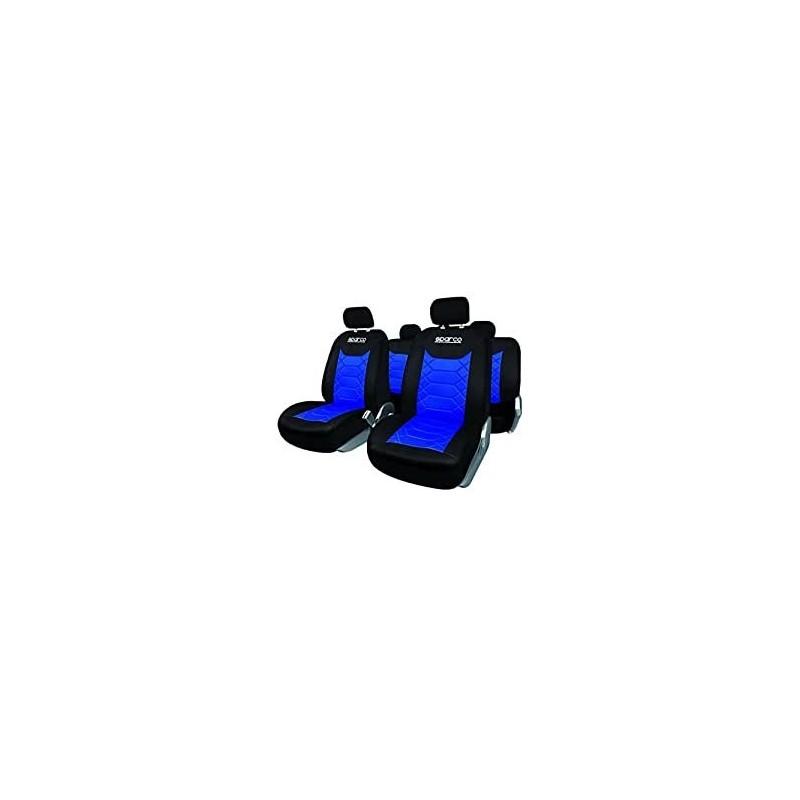 Juego Fundas BK Sparco azul