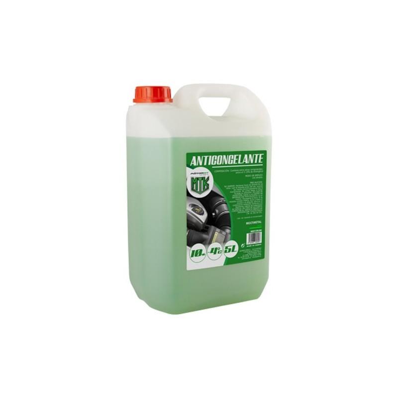 Anticongelante 10% CS4 5l. verde