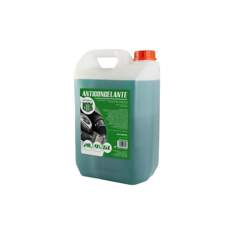 Anticongelante 20% CS4 5l. verde