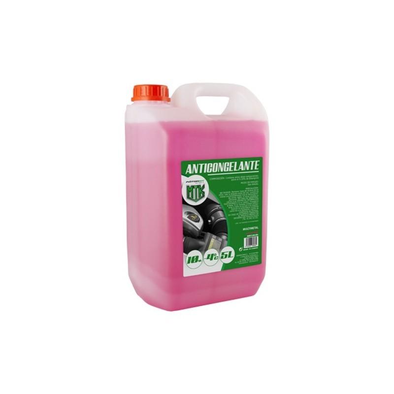 Anticongelante 10% CS4 5l. rosa