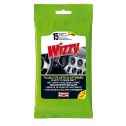 Limpieza Plástico Acetinado Wizzy 15 Wipes