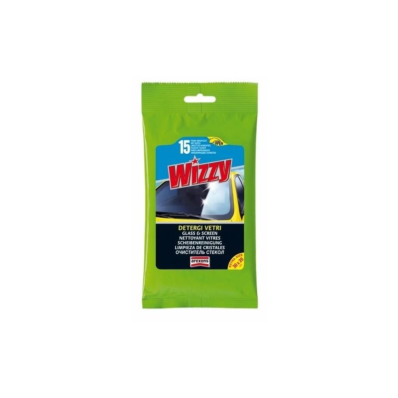 Limpia Cristales Wizzy 15 toallitas