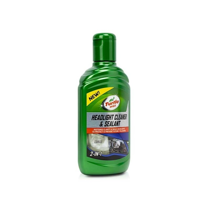 Restaurador Faros Turtle Wax 300 ml.