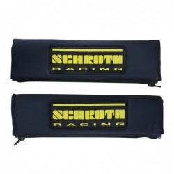 "Almohadillas Cinturón Schroth 3"" Logo negras"