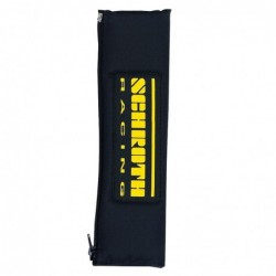 "Almohadillas Schroth Racing 2"" negro amarillo"