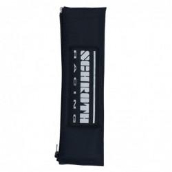 "Almohadillas Cinturón Schroth 2"" Negras Logo"
