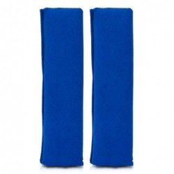 Juego Almohadillas Velour Azules
