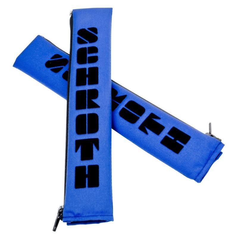 "Almohadillas Schroth Flock 2"" azul negro"