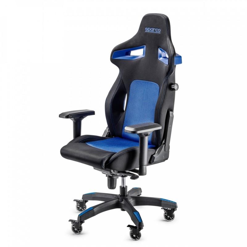 Silla Gaming/Oficina Sparco Stint azul