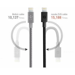Cable USB Nonda ZD Super Duty MICRO 4FT 180° I-Phone