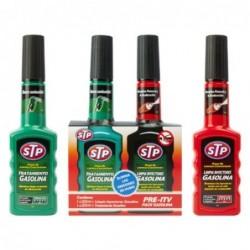 Kit Pre-ITV STP Gasolina con Limpia Inyectores 200 ml. + 200 ml.