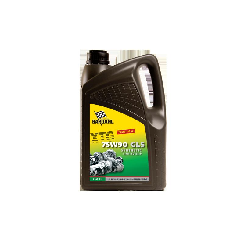 Aceite Diferenciales Autoblocantes Bardahl 75W90 Syuntetic LS 5 l.