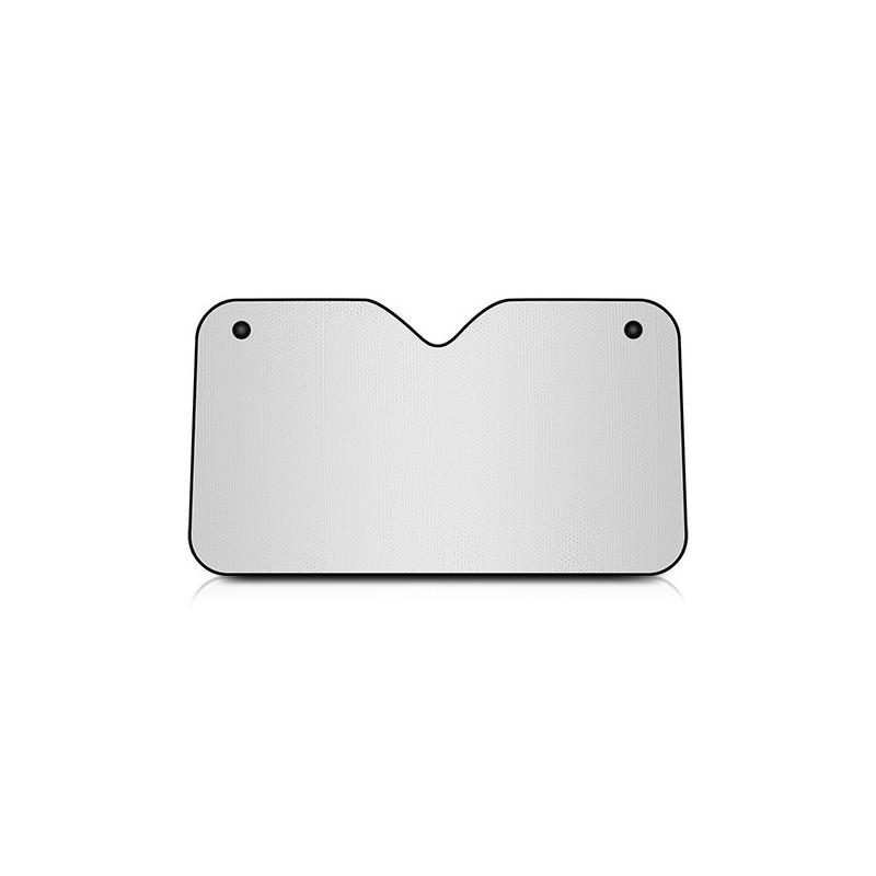 Parasol Plateado Tamaño mediano 130x70