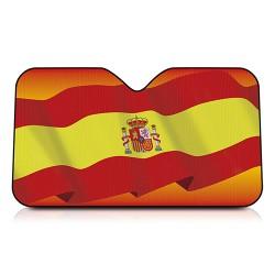 Parasol Mediano Bandera Ondeante España 130x70