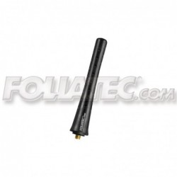 Antena Foliatec Fact Dot Negra L 8.2 cm