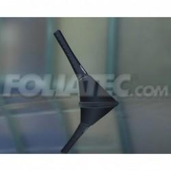 Antena Foliatec Fact Dot Negra L 8.2 cm