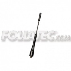 Antena Foliatec Fact Type 1.4 Negra L 15.5 cm.