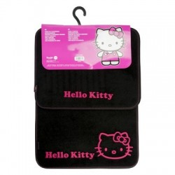 Alfombrillas Hello Kitty Negra