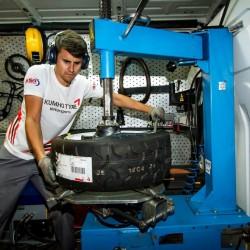 Servicio de montaje de neumáticos