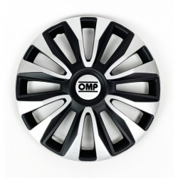 Tapacubos OMP Magnum Speed Black/Silver