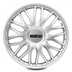 Tapacubos Sparco Roma Silver