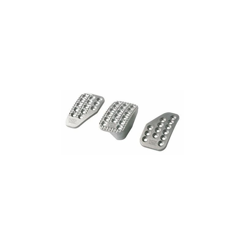 Pedales OMP Aluminio Arenado OA/1000