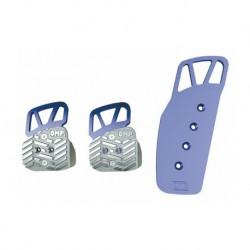 Pedales OMP Aluminio Anodizado OA/1068 azul