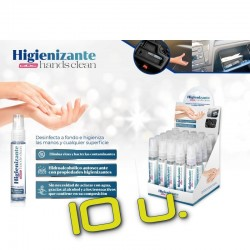 Pack Higienizante Manos 30 ml x10
