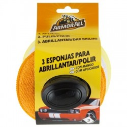 Kit 3 Pulidores Con Mango Armor All.