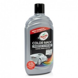 Cera Turttle Wax Color Magic Plata 500 ml