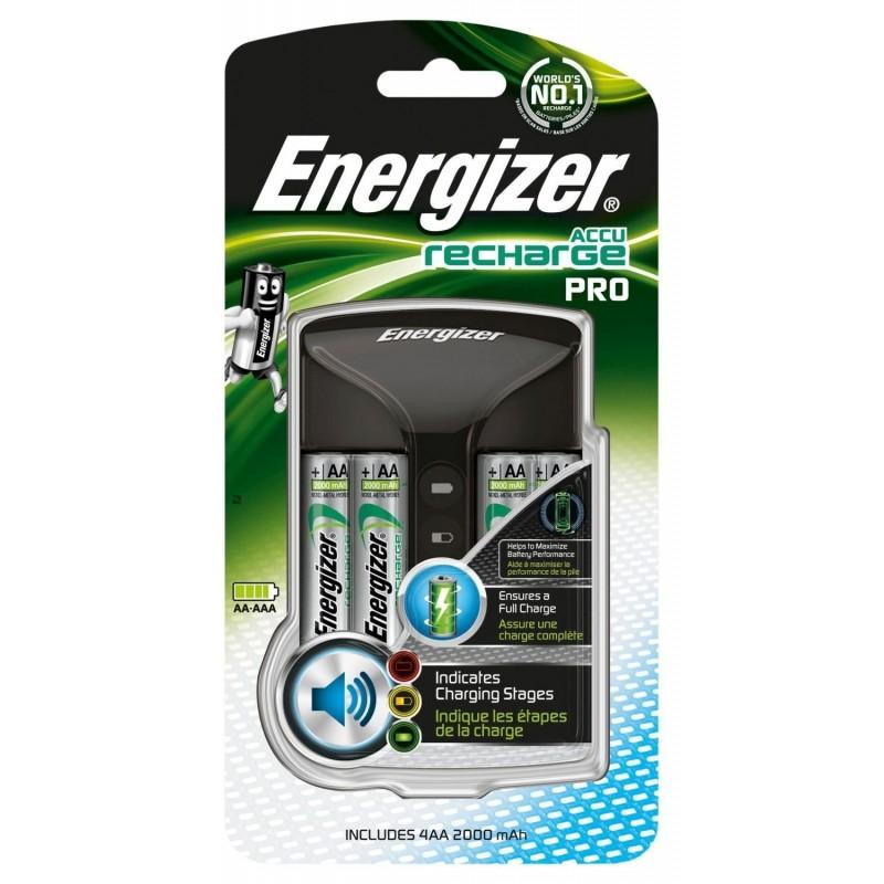 Cargador Energizer Pro 4HR6 2000mAh