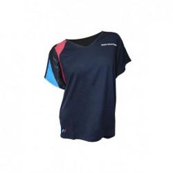 Camiseta BMW Motorsport Navy Mujer