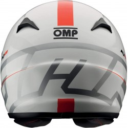 Casco Karting OMP KJ8 Evo CMR Blanco