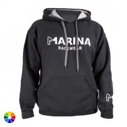 Sudadera Capucha Marina Racewear