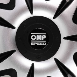Tapacubos OMP Speed Ghost Black/Silver