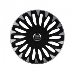 Tapacubos OMP Stinger Speed Black/Silver
