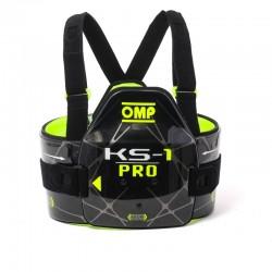 Protector Cuerpo KS-1 OMP Negro/amarillo FIA