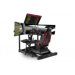 F-GT Elite Cockpit Simulación Aluminio - Edición Montaje Frontal y Lateral - Next Level Racing