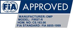 Certificado FIA 8855 1999 OMP asiento